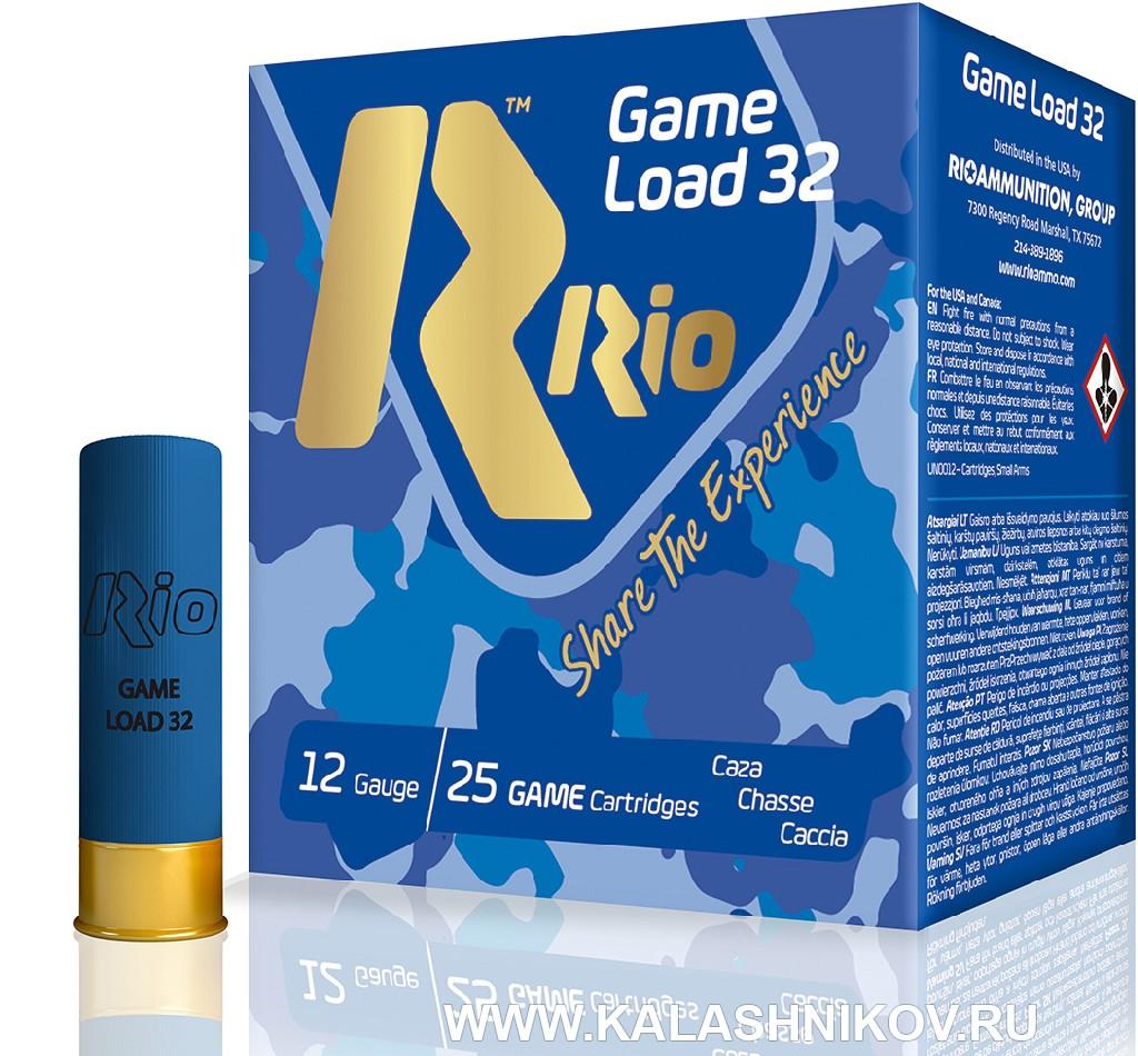 Дробовые патроны Rio Game Load 32