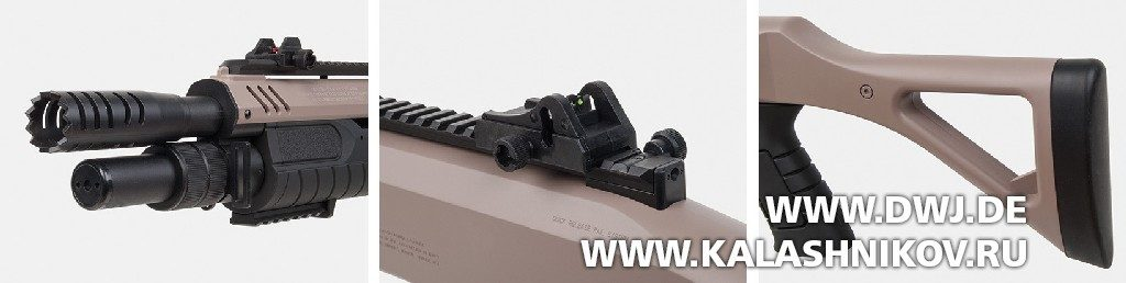 Пневматическое помповое ружье GSG Fabarm STF12