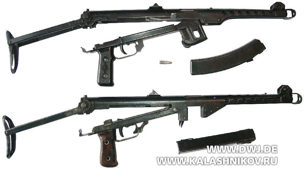 Сравнение ППС-43 и финской копии М/44