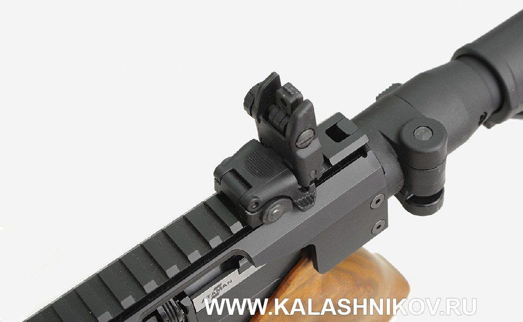 Пневматический пистолет AP16 со складным диоптрическим прицелом