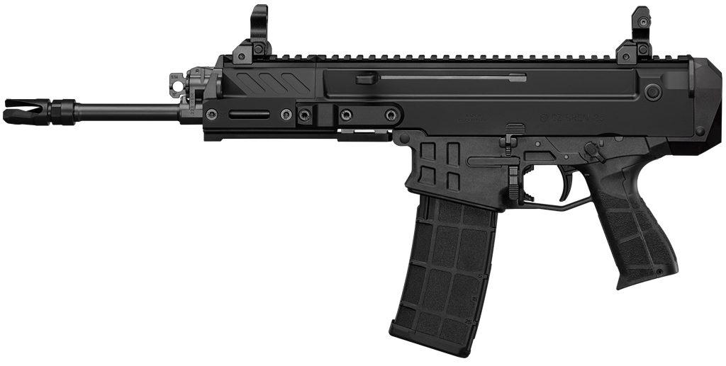 CZBren 2 MS, пистолет, короткий ствол, фиксатор предплечья