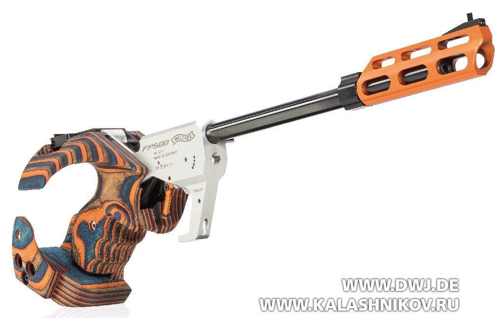Спортивный пистолет FP500 Walther