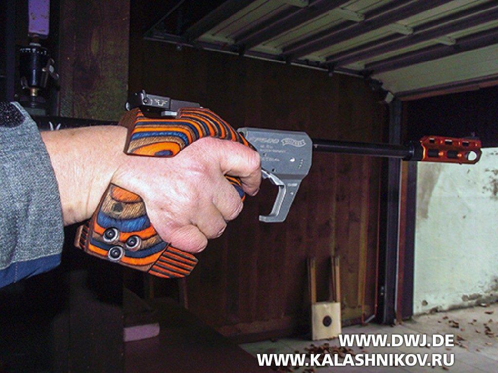 Спортивный пистолет FP500 Walther. Фото 3