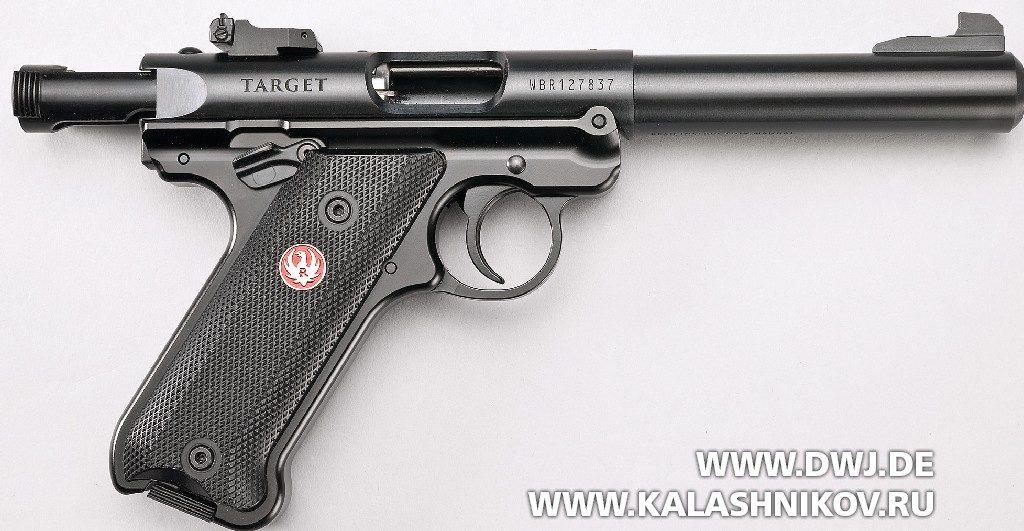 Спортивный пистолет Ruger MarkIV. вид справа