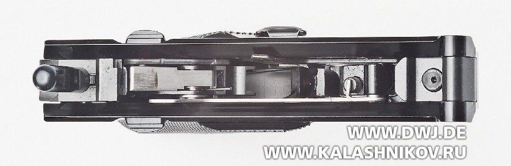 Спортивный пистолет Ruger MarkIV. рамка