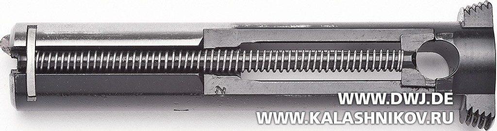 Спортивный пистолет Ruger MarkIV. Затвор