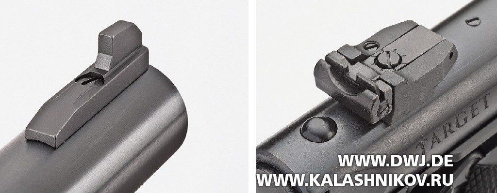 Спортивный пистолет Ruger MarkIV. прицельные приспособления