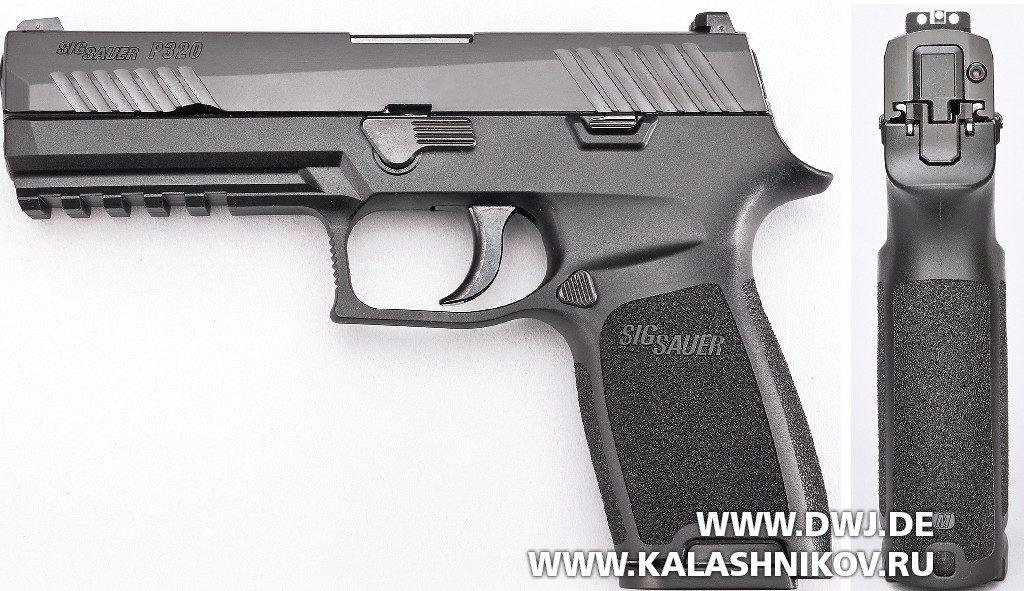 Пистолет SIG Sauer P320 вид слева