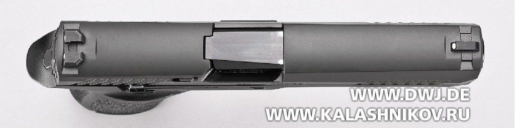 Пистолет SIG Sauer P320 вид сверху