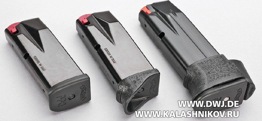 Пистолет Walther PPQ Subcompact. Магазины