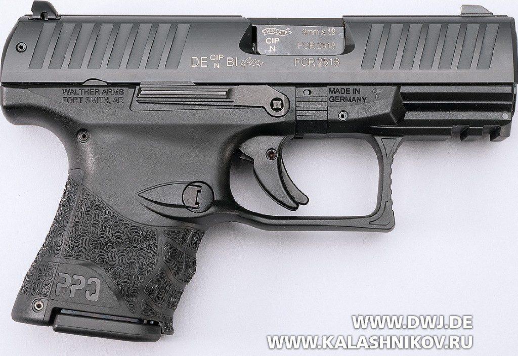 Пистолет Walther PPQ Subcompact. Вид справа