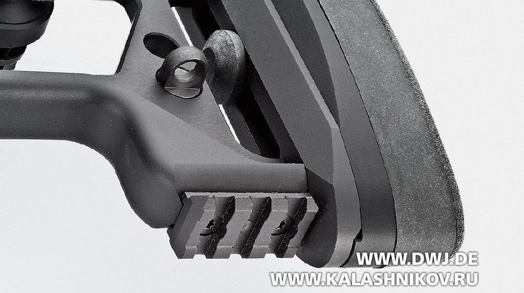 Винтовка Tikka T3x TAC A1 нижняя часть приклада