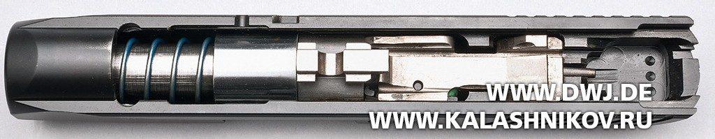 Пистолет Remington R51. Ствольная группа с затвором