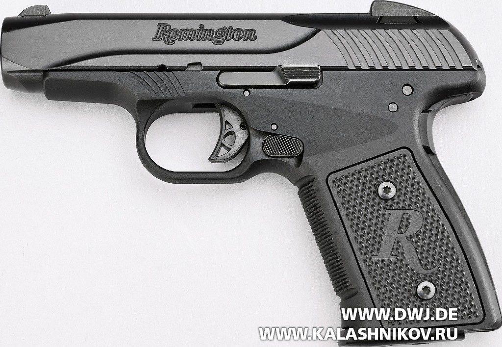 Пистолет Remington R51. Вид слева