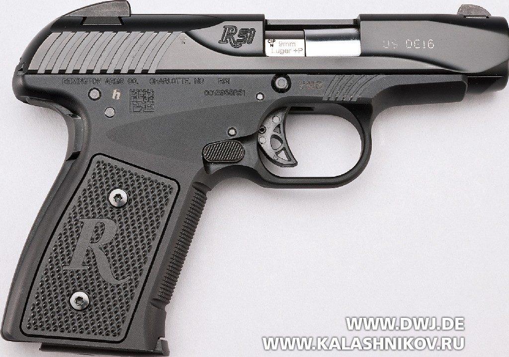Пистолет Remington R51. Вид справа