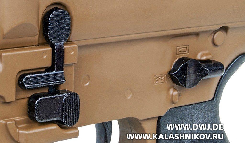 Пневматическая винтовка GSG SIG-Sauer. Предохранитель