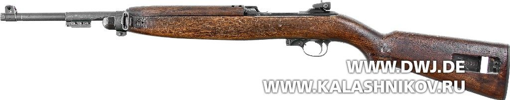 Самозарядный карабин .30 М1 Carbine. Вид слева