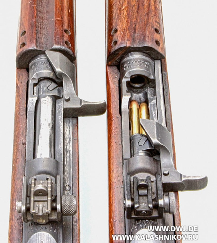 Самозарядный карабин .30 М1 Carbine. Затвор