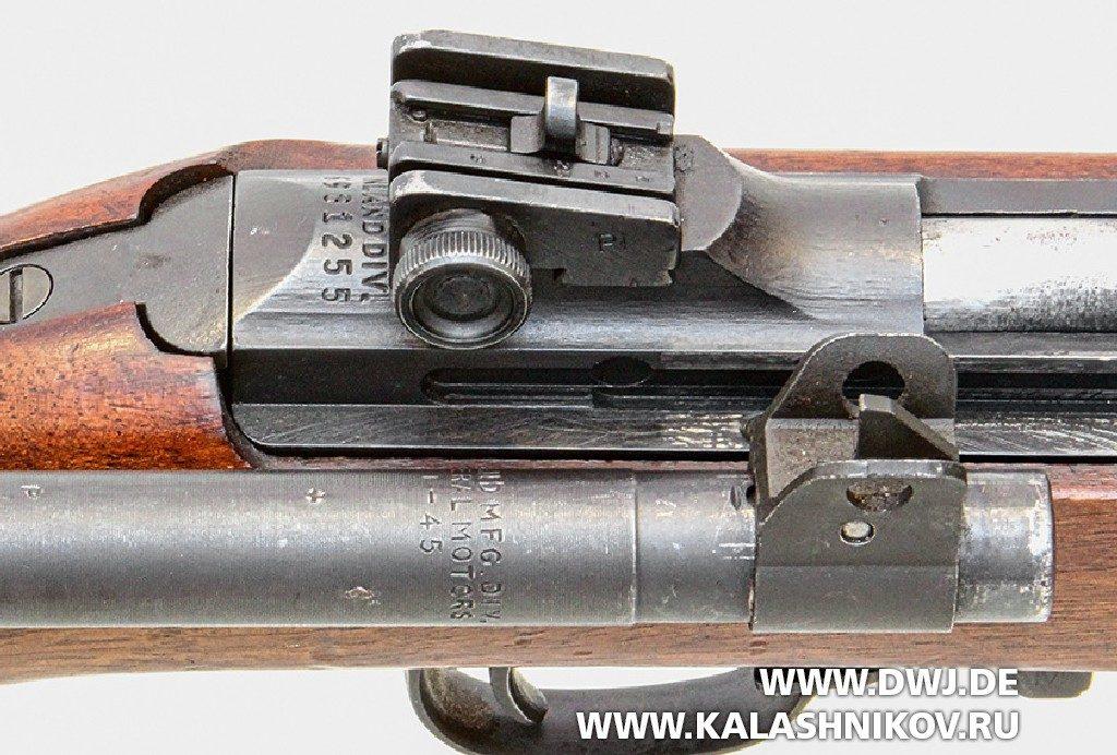 Самозарядный карабин .30 М1 Carbine. Прицельные приспособления