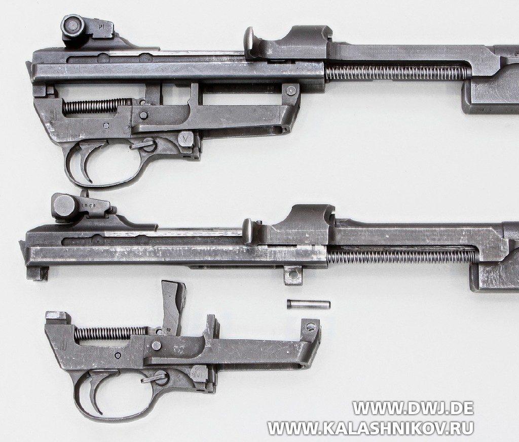 Самозарядный карабин .30 М1 Carbine. УСМ