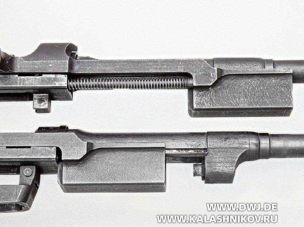 Самозарядный карабин .30 М1 Carbine. Затворная рама