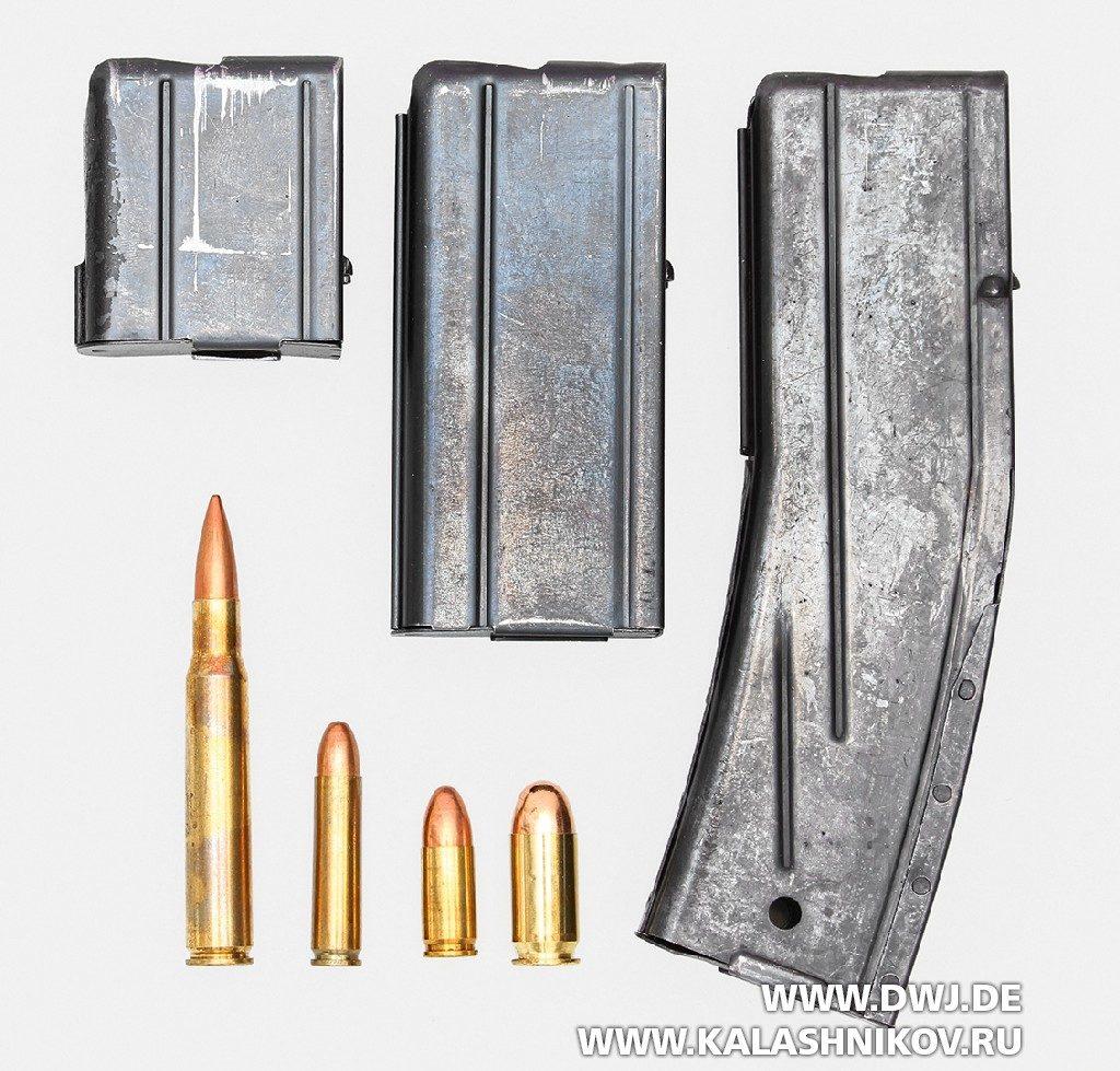 Самозарядный карабин .30 М1 Carbine. Магазины
