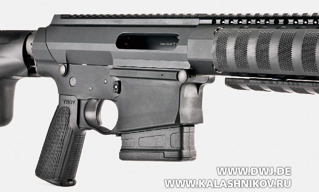 «Помповая» AR-10. Винтовка Troy PAR Sporting. Ствольная коробка