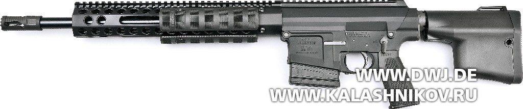 «Помповая» AR-10. Винтовка Troy PAR Sporting. Вид слева