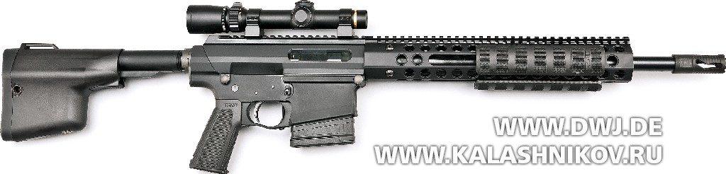 «Помповая» AR-10. Винтовка Troy PAR Sporting. Вид справа