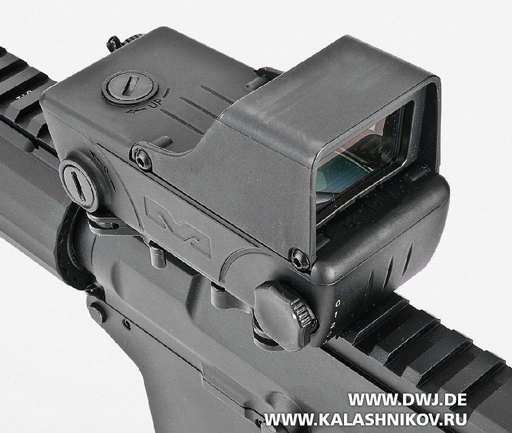 Карабин HAR15. Коллиматорный прицел Tru-Dot RDS компании MeprolLight