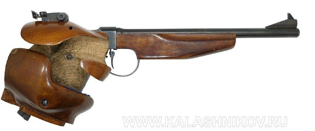Спортивный малокалиберный пистолет ТОЗ-35