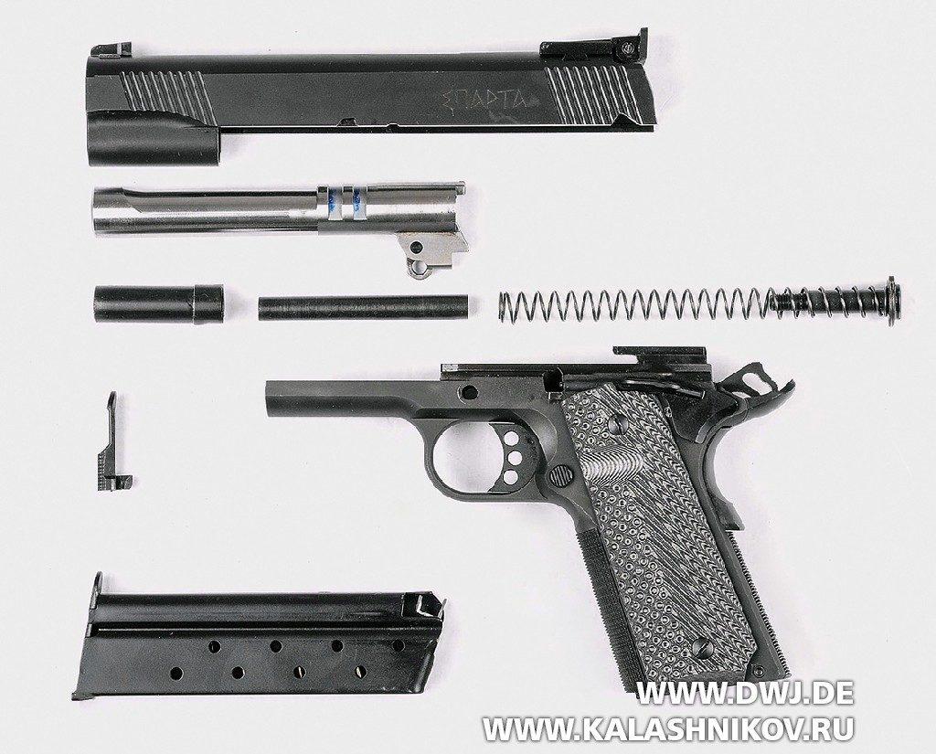 Пистолет STI Europe Black Major. Неполная разборка