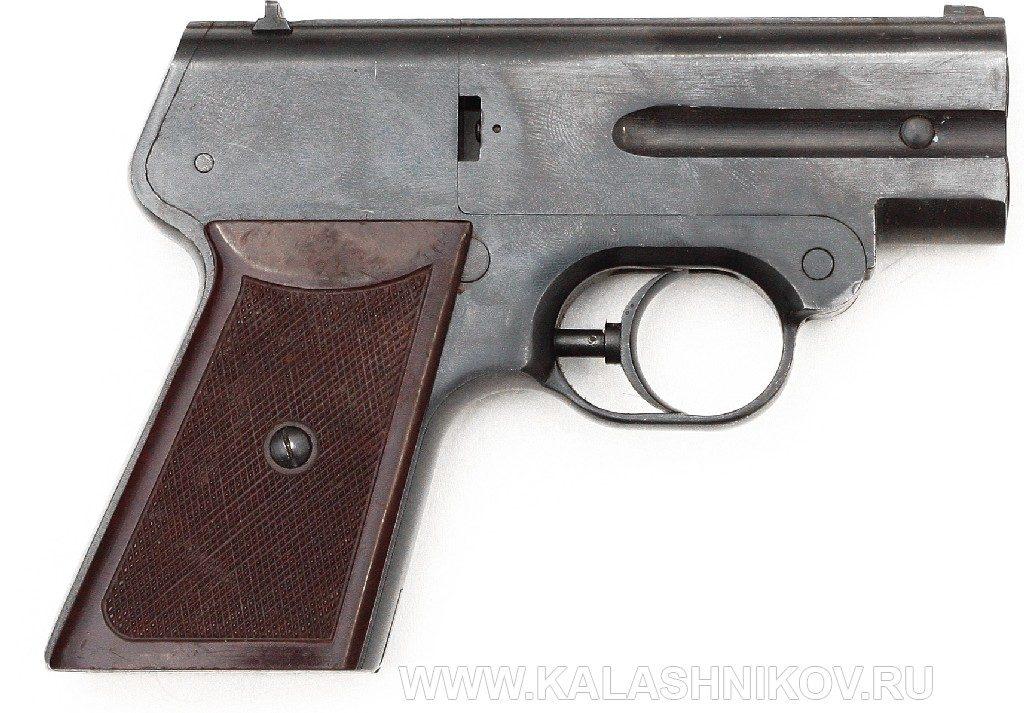 Бесшумный пистолет «Гроза» С-4М. Общий вид