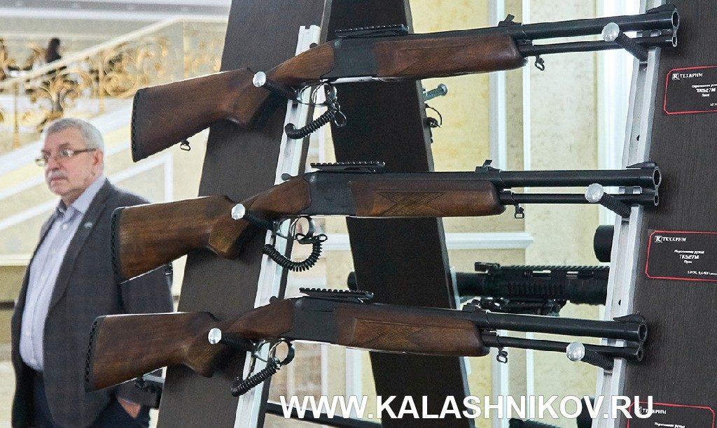 комбинированное ружьё ТК527. VIвсероссийский оружейный форум вКостроме. Фото 1
