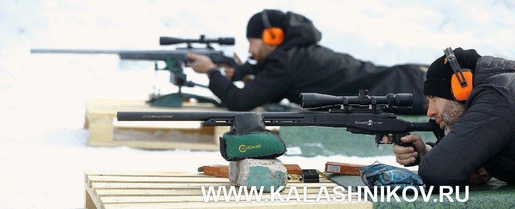 Стрельба из карабина Sabatti с MRR-стволом. VIвсероссийский оружейный форум вКостроме