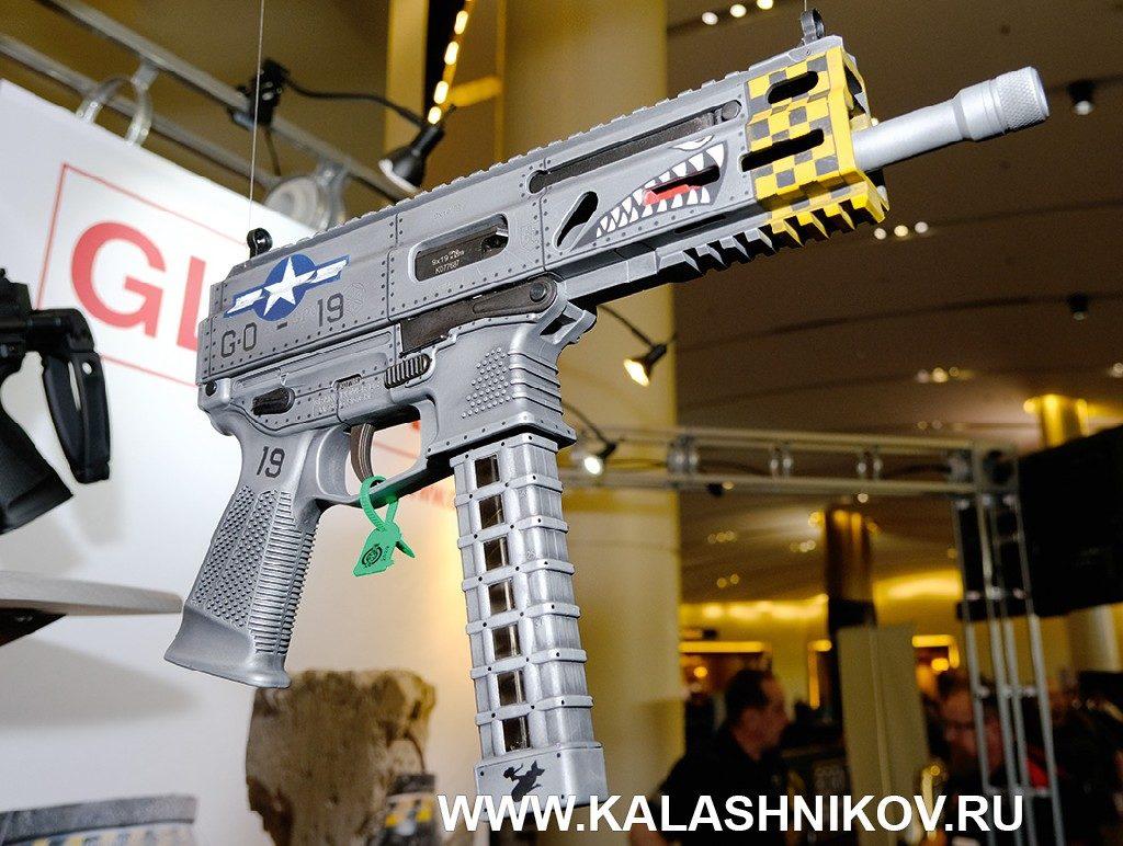 Пистолет-пулемёт Stribog. Выставка SHOT Show 2020