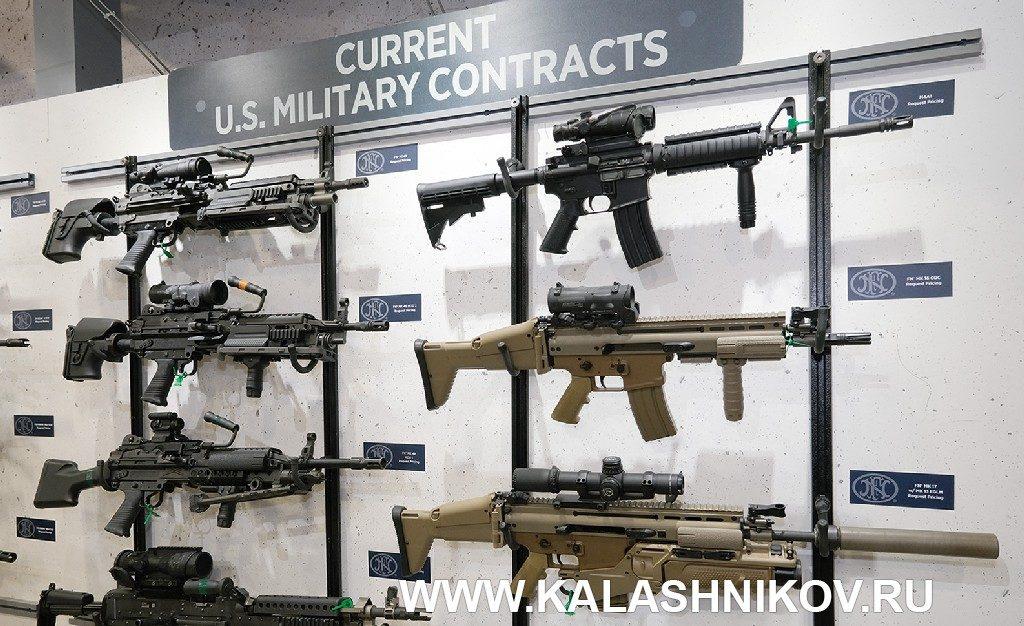 Армейское оружие компании FN. Выставка SHOT Show 2020