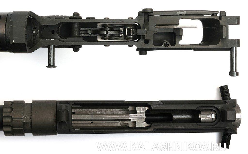 Пистолет-карабин Союз-ТМ STM-9. Спусковая и ствольная коробки