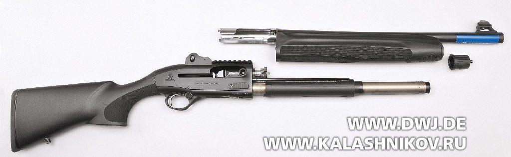 Beretta 1301 Tactical. Неполная разборка