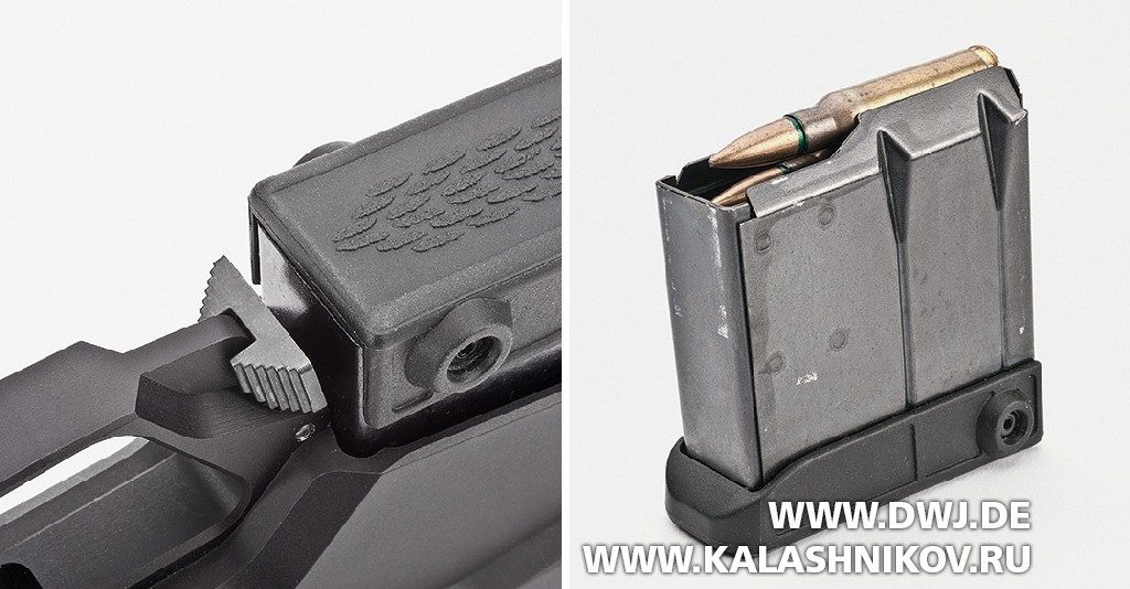 Высокоточная винтовка T3x TAC A1. Магазин