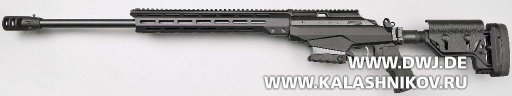 Высокоточная винтовка T3x TAC A1. Вид слева