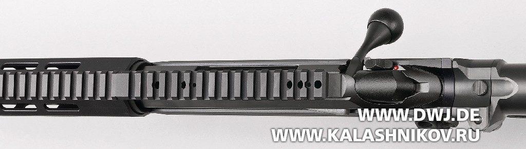 Высокоточная винтовка T3x TAC A1. Планка пикатини