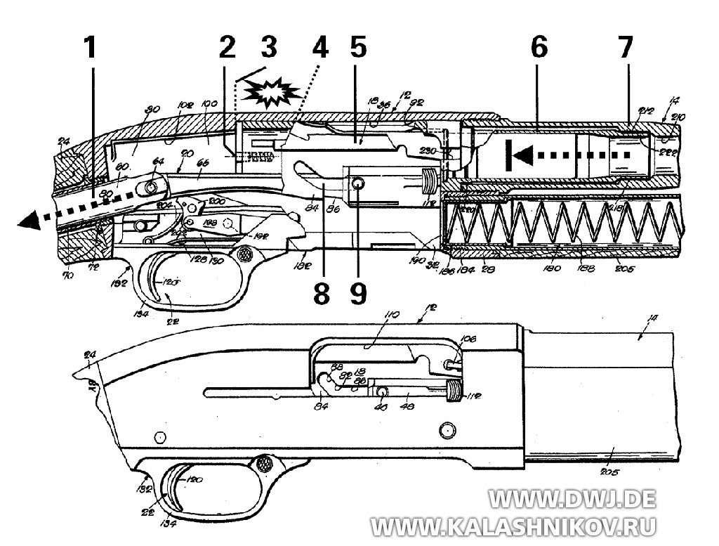 Схема Winchester M 50
