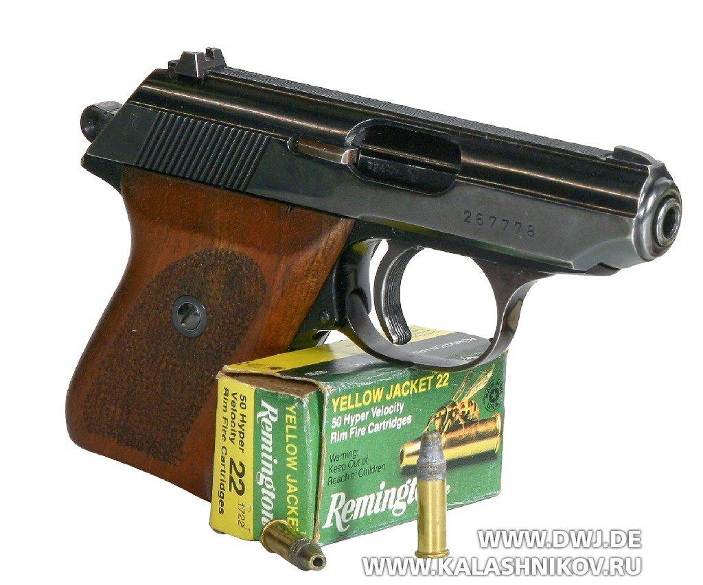 Пистолет Walther TPH. подпатрон .22 l.r.