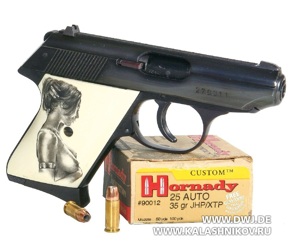 Пистолет Walther TPH. подпатрон 6,35 mm Browning