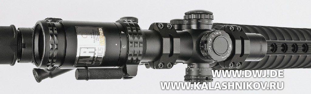 Оптический прицел Bushnell AR/223 3-12x40 BDC