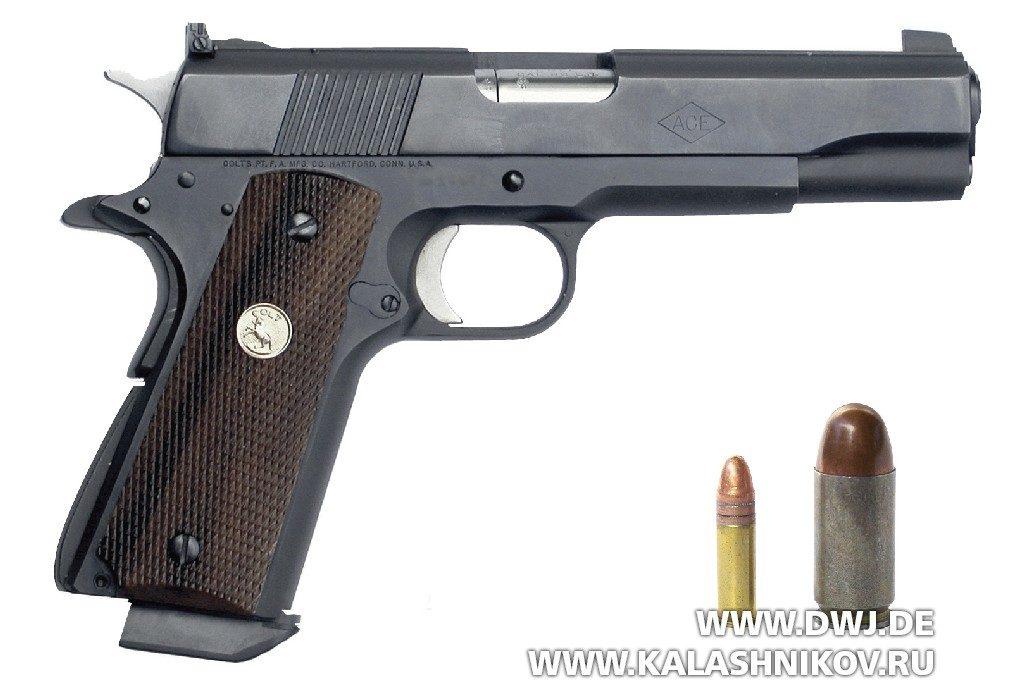 Пистолет Colt Service-Modell ACE .22 l.r.