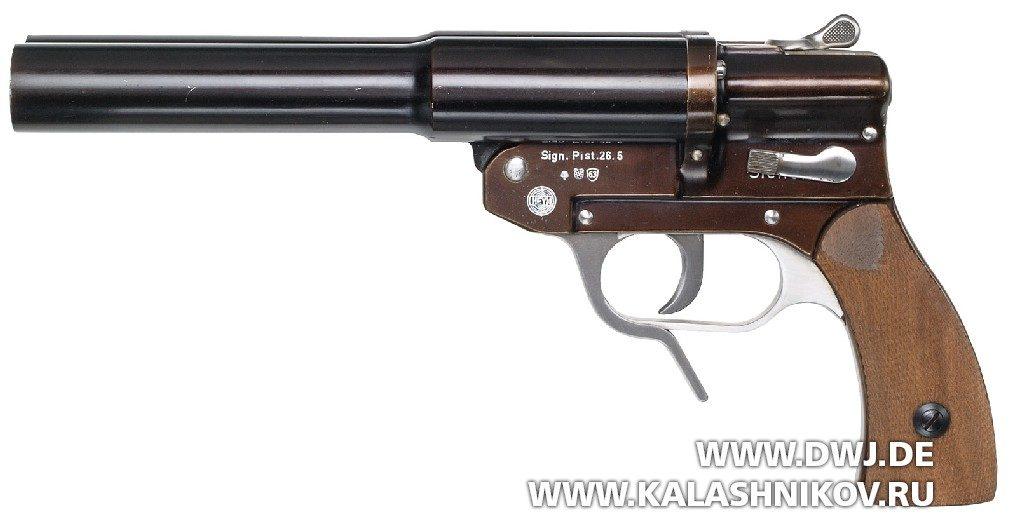 Сигнальный пистолет модели Sig P4 фирмы Heym