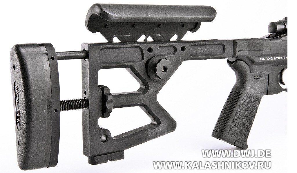 Высокоточная винтовка Colt M2012 SA. Приклад
