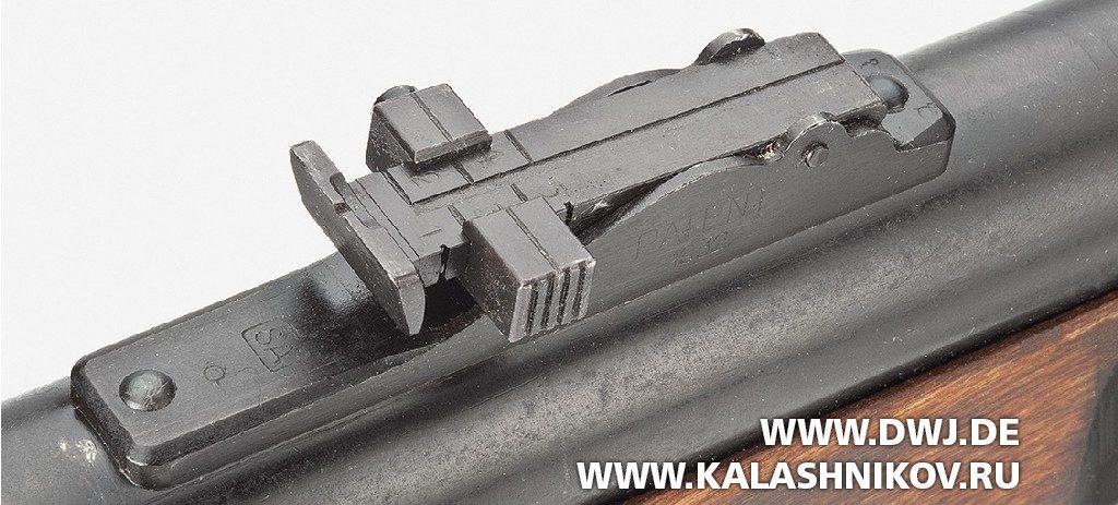 Пистолет-пулемёт Suomi KP/-31. Прицел